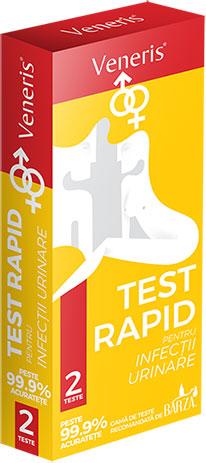 Cutie Test Veneris rapid pentru infectii urinare